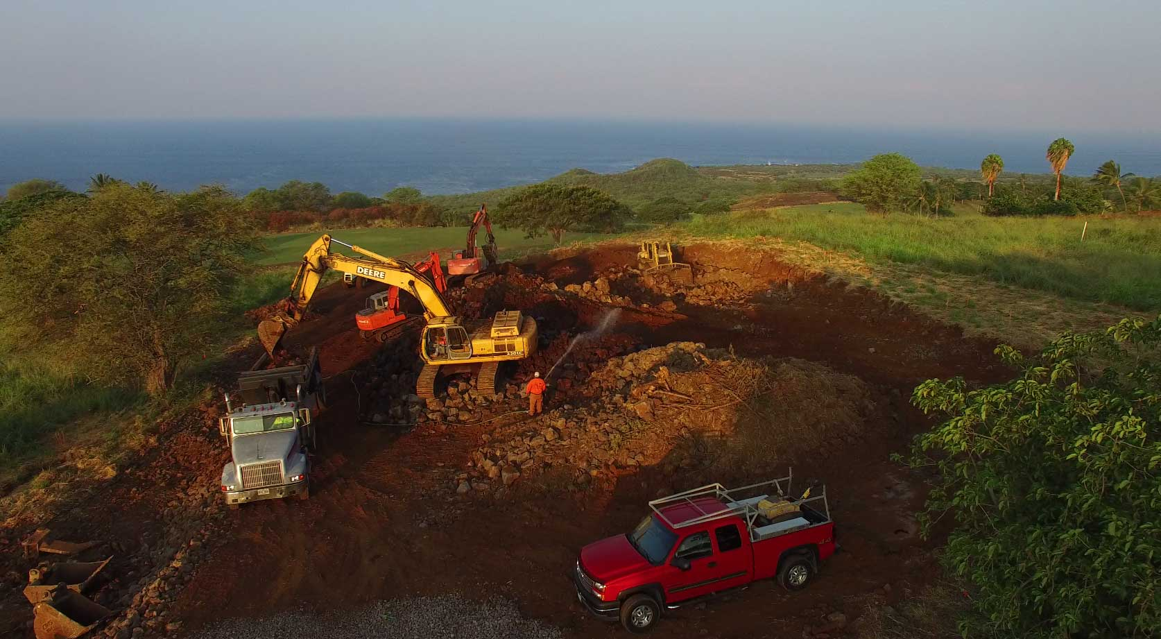Grading, Excavation, and Septic Installation to the West Hawaii Area